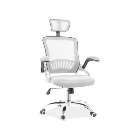 thumb Кресло поворотное Q-831 серый 1