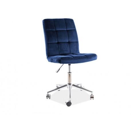 thumb Кресло поворотное Q-020 VELVET синий BLUVEL 86 1