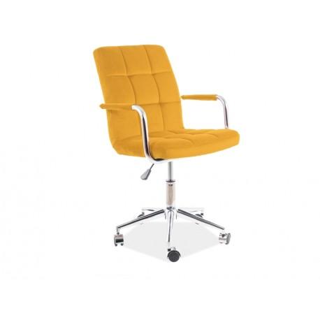 thumb Кресло поворотное Q-022 VELVET Кари BLUVEL 68 1