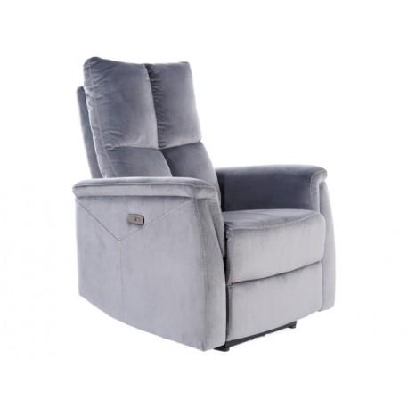 thumb Кресло раскладное NEPTUN VELVET серый BLUVEL 14 1