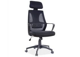 Кресло поворотное Q-935 черный