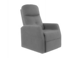 Кресло раскладное ARES VELVET серый BLUVEL 14