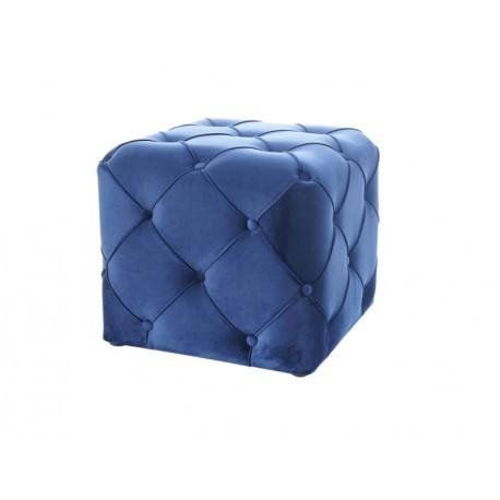 thumb Пуф AVIVA K VELVET синий BLUVEL 86 / венге 1