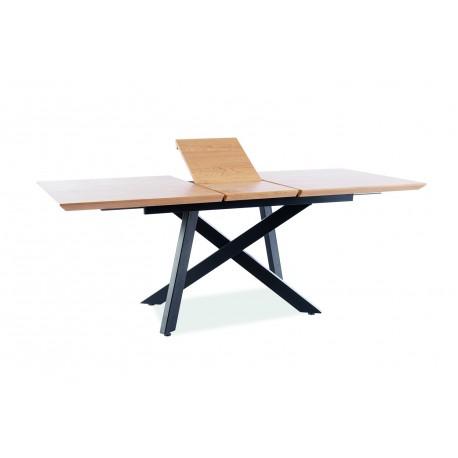thumb Стол CAPITOL дуб / черный каркас 160 (200) X90 4