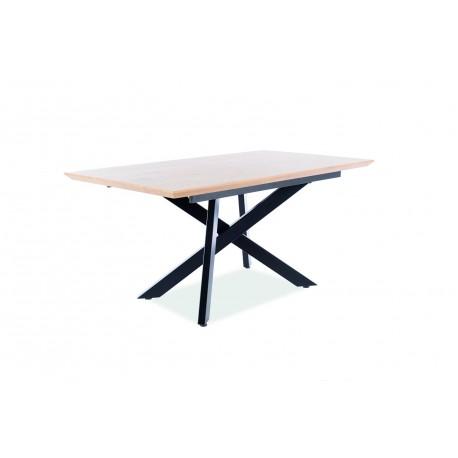 thumb Стол CAPITOL дуб / черный каркас 160 (200) X90 3