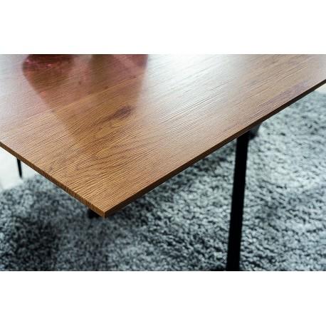 thumb Стол CAPITOL дуб / черный каркас 160 (200) X90 2