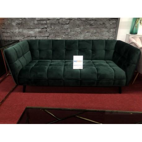 thumb Диван CASTELLO 3 VELVET зеленый BLUVEL 78 / венге 2
