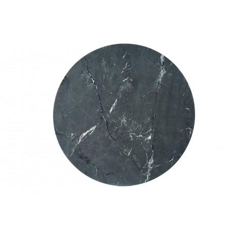 thumb Стол CYRYL II черный эффект камня / черный / золото каркас Диаметр100 2