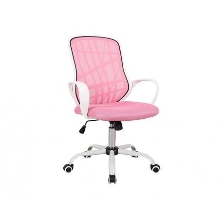 thumb Кресло поворотное DEXTER розовый / белый 1