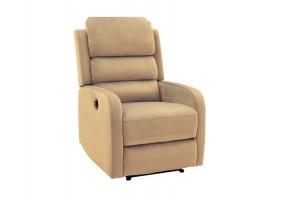 Кресло раскладное PEGAZ VELVET беж BLUVEL 28