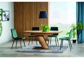 Стол TORONTO дуб 120 (160) X80