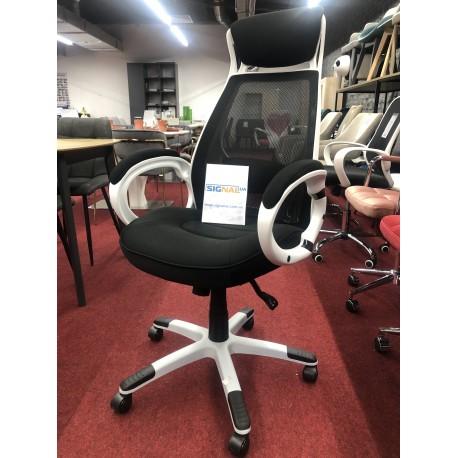 thumb Кресло Q-409 Черный/Белый 2