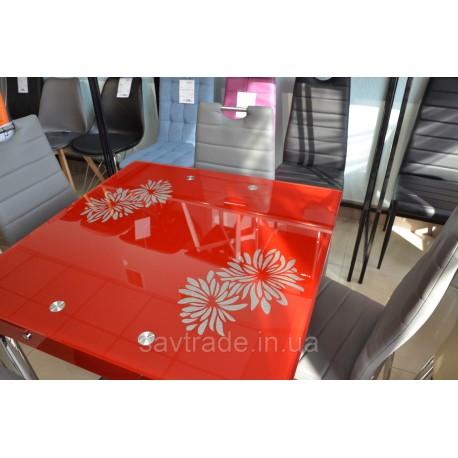 thumb Стол обеденный GD-082 80(131)x80 Красный 4