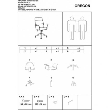 thumb Кресло Oregon Черный 5