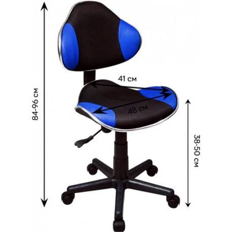 thumb Кресло Q-G2 Синий / Черный 8