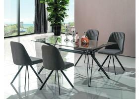 Стол обеденный Tivoli 160х90 см Прозрачный