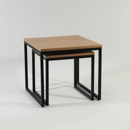 thumb Журнальный стол Largo Duo Дуб/Черный 7