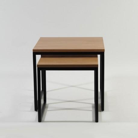 thumb Журнальный стол Largo Duo Дуб/Черный 6
