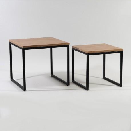 thumb Журнальный стол Largo Duo Дуб/Черный 5