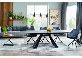 Комплект стол Salvadore Ceramic + стулья Agava Velvet 6 шт.