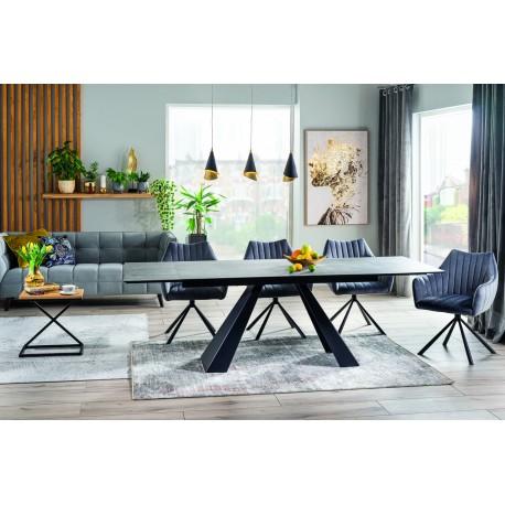 thumb Комплект стол Salvadore Ceramic + стулья Agava Velvet 6 шт. 1
