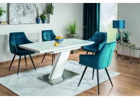 Комплект стол Toronto + стулья Lilia Velvet 4 шт.